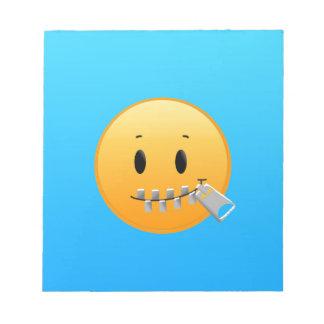 Zipper Emoji Notepad