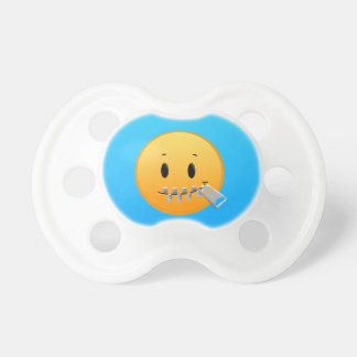 Zipper Emoji Pacifier