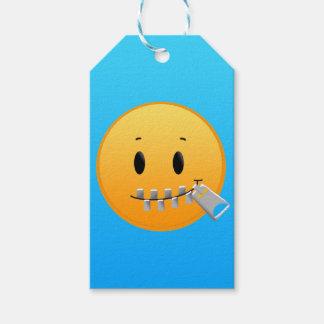 Zipper Emoji Pack Of Gift Tags