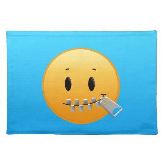 Zipper Emoji Placemat