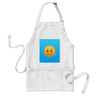 Zipper Emoji Standard Apron