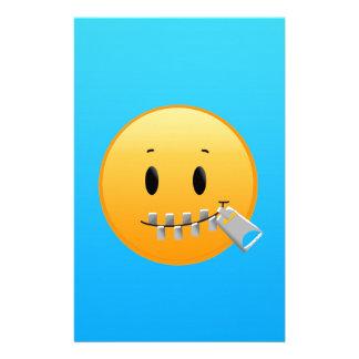 Zipper Emoji Stationery