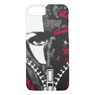 Zipper face phone case