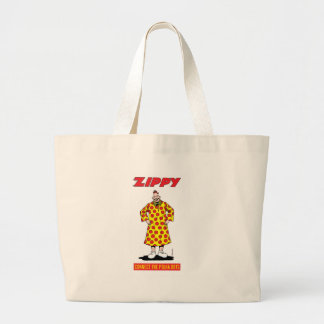Zippy: Connect The Polka Dots Large Tote Bag