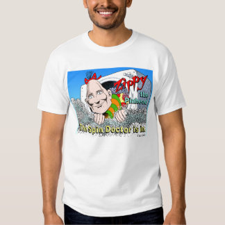 Zippy: The Spin Doctor Tees