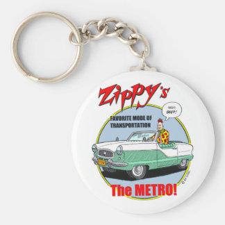 Zippy's Metro Keychain