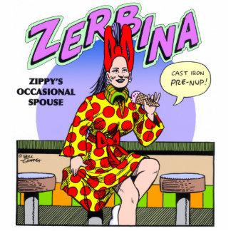 Zippy's occasional spouse, Zerbina Photo Cut Outs