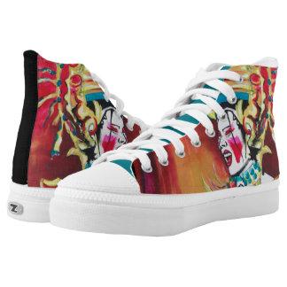 Zips, high top shoes, CSD2
