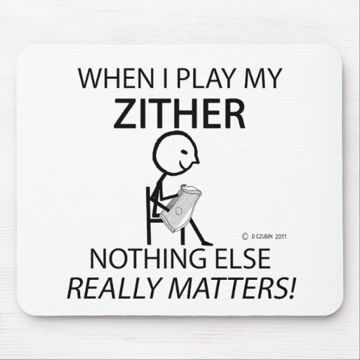 Zither Nothing Else Matters Mousepads