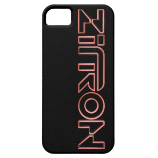 Zītron Red on Black Iphone 5 Case