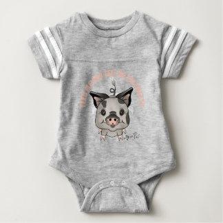 ZivaPig Feed-Me Baby Bodysuit
