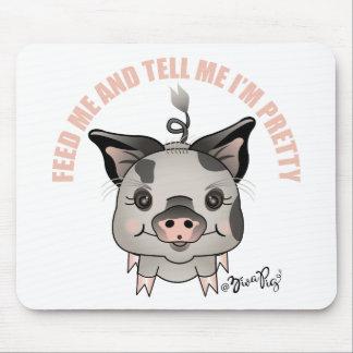 ZivaPig Feed-Me Mouse Pad