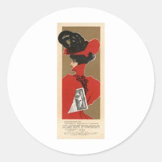 Zlata Praha Round Sticker