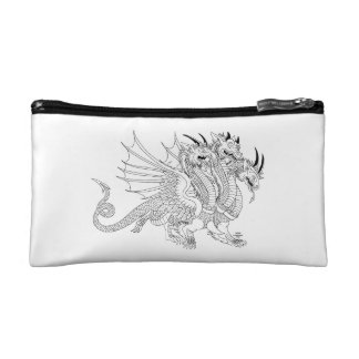 Zmey Gorynych Dragon Book of 100 dragons LEVEL 2 Cosmetic Bags