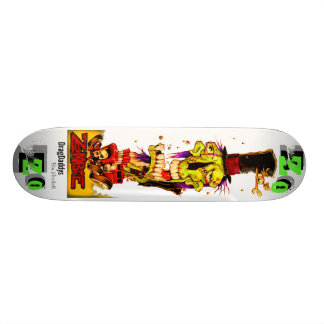 ZO Board by Scorch Studios USA Custom Skate Board
