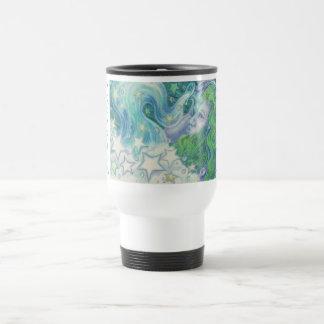 Zodiac Aquarius travel/commuter mug