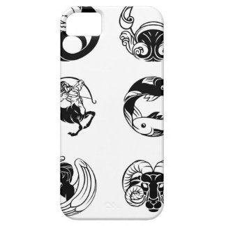 Zodiac astrology horoscope star signs icon set iPhone 5 case