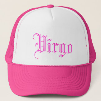 zodiac astrology horoscope virgo trucker hat