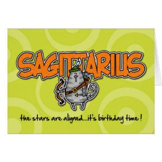 Zodiac Birthday - Sagittarius Card