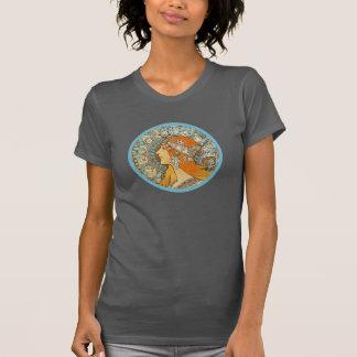 Zodiac by Alphonse Mucha T-Shirt