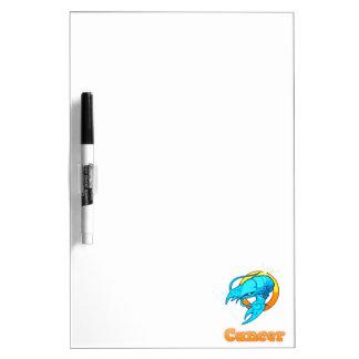 Zodiac Cancer illustration Dry Erase Board