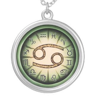 Zodiac Cancer symbol Necklace