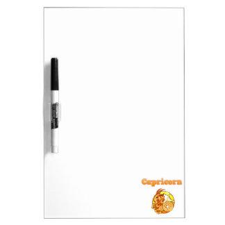 Zodiac Capricorn illustration Dry Erase Board