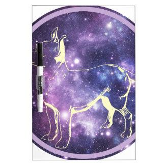 Zodiac Chihuahua Dry Erase Whiteboard