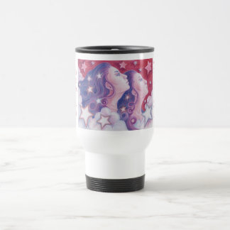 Zodiac Gemini travel/commuter mug