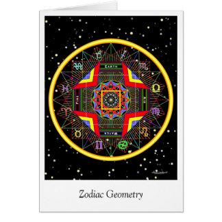 Zodiac Geometry Card