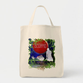 Zodiac Grocery Bag