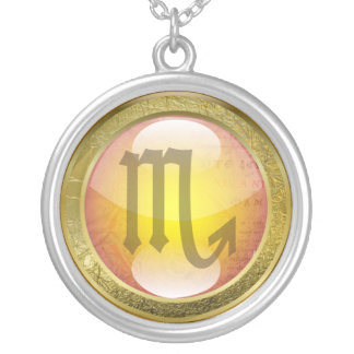 Zodiac Jewelry Necklace Amulet - Scorpio