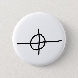 Zodiac Killer Crosshair 2 Inch Round Button