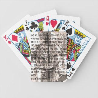 Zodiac killer poker deck