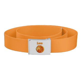 Zodiac Leo illustration Belt