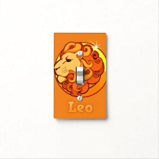 Zodiac Leo illustration Light Switch Cover