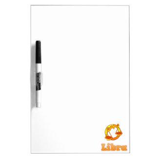 Zodiac Libra illustration Dry Erase Board