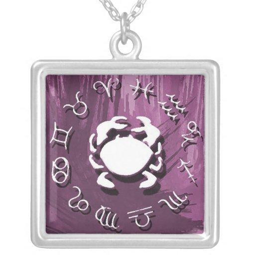 Zodiac Necklace - Cancer