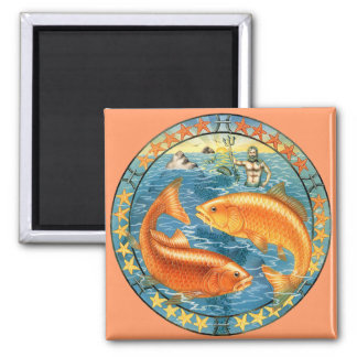 Zodiac Pisces - Customize it! Magnet