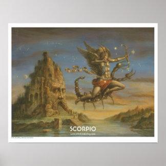Zodiac poster - Scorpio