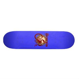 Zodiac Scorpio-Design-1 View Below Hints Skate Board