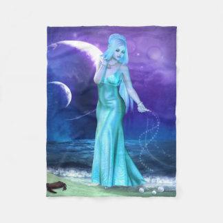 Zodiac Series: Cancer Fleece Blanket