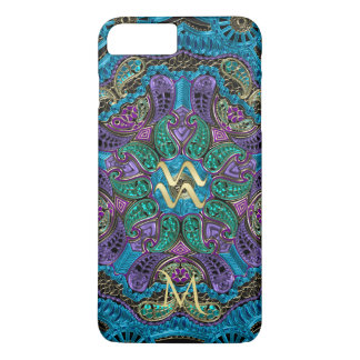 Zodiac Sign Aquarius Mandala iPhone 6 Plus Case