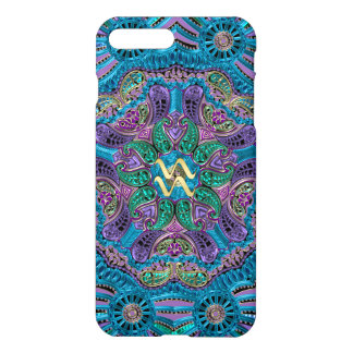 Zodiac Sign Aquarius Mandala iPhone 7 Plus Case