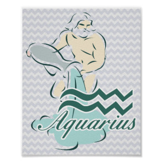 Zodiac Sign Aquarius Symbol