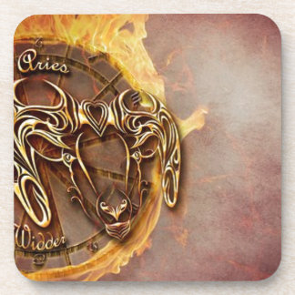 Zodiac sign aries- coaster