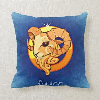 Zodiac sign Aries Throw Pillow