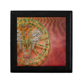zodiac sign bull- gift box