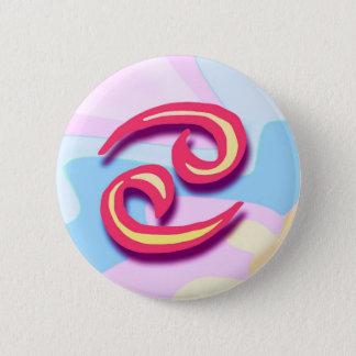 Zodiac sign Cancer 2 Inch Round Button
