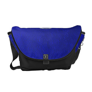 Zodiac Sign Cancer Blue Leather Look Commuter Bags